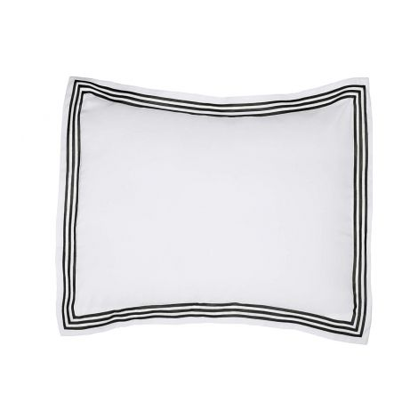 Triple Embroidery Border Sateen Pillow Sham