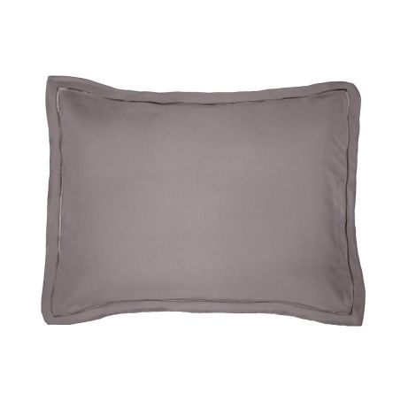 Luxurious Single Embroidery Border Sateen Pillow Sham
