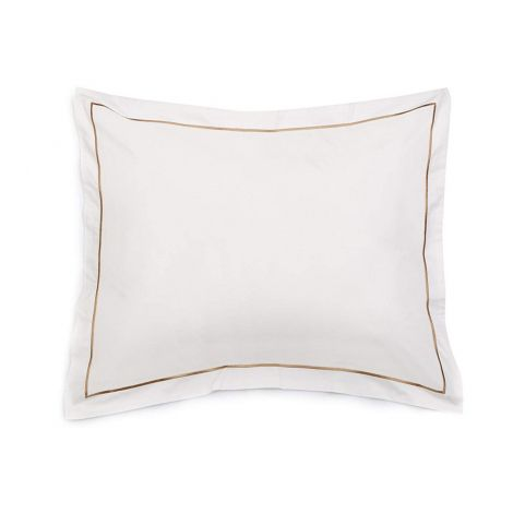 Single Embroidery Border Sateen Pillow Sham
