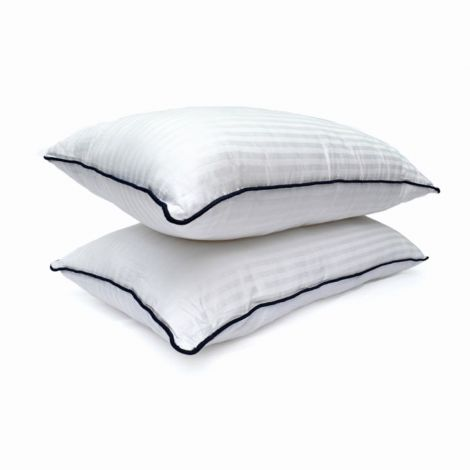 White Stripe Pillow Insert